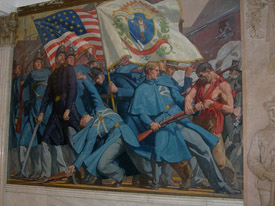Mass State House Mural