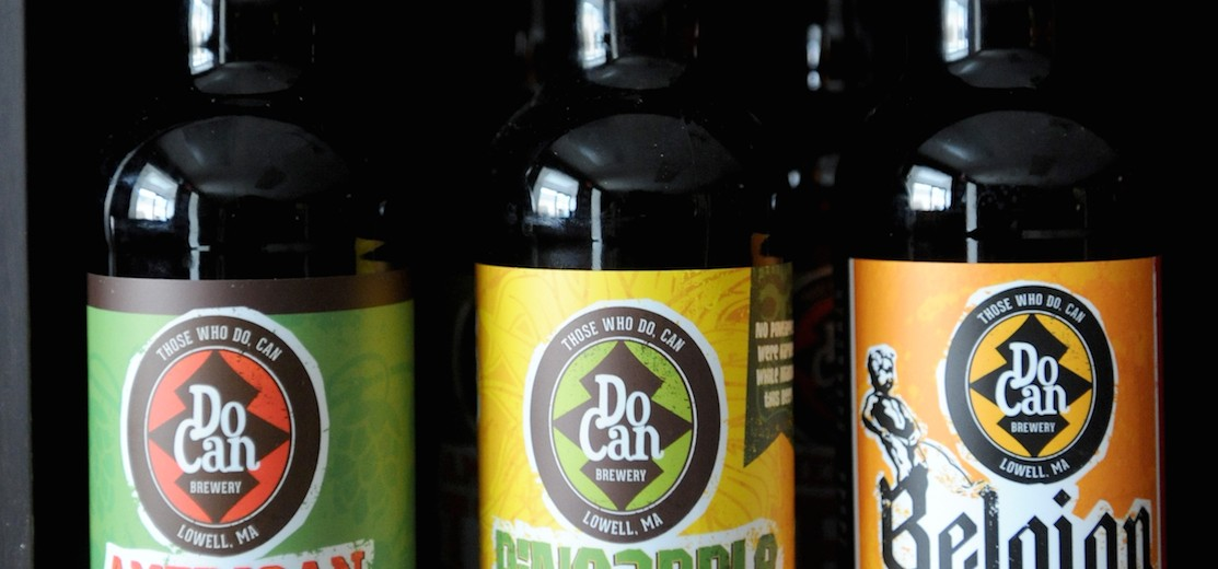 Do Can Brewery is local craft beer made in Lowell, Massachusetts.