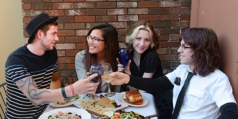 Athenian offers a fun and affordable night out with friends.