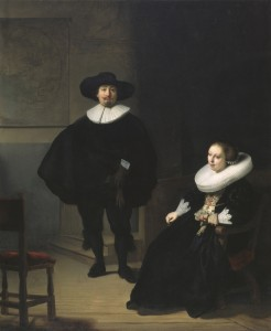 Lady and a Gentleman, Rembrandt, 1633.